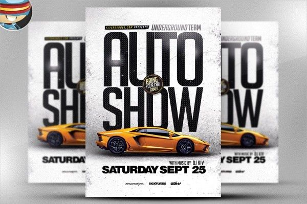 21+ Car Show Flyer Designs - PSD, Vector EPS, JPG Download ...