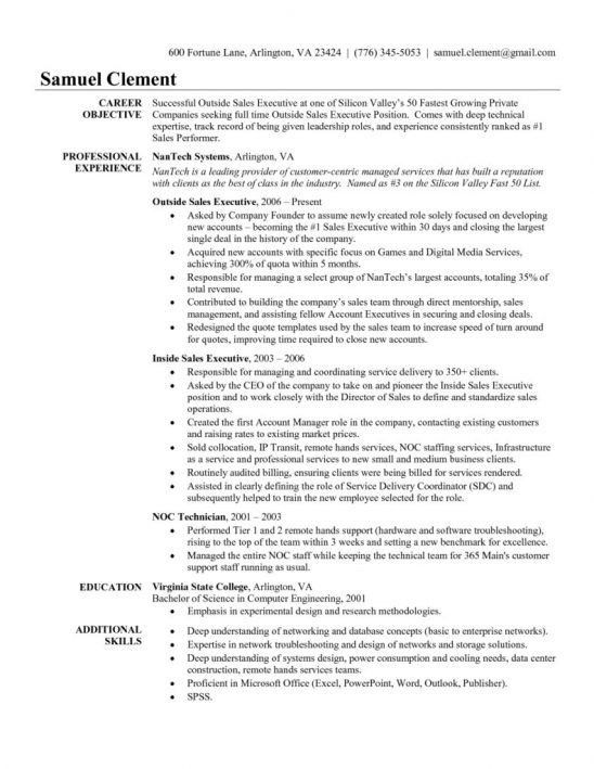 resume sample sales more damn good info on resume writing resume ...