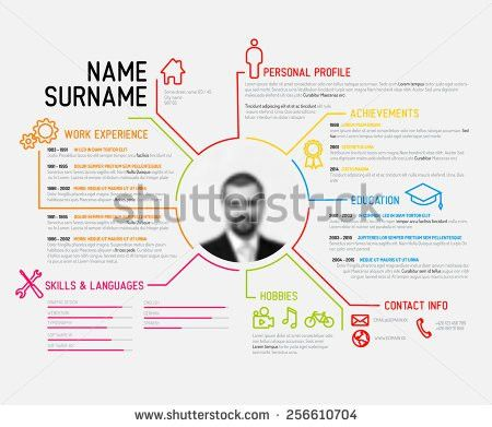 Free Curriculum Vitae Vector Template - Download Free Vector Art ...