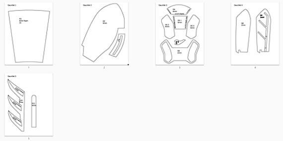 DIY Batman Arkham Knight Foam Armor Gauntlets Tutorial Kit