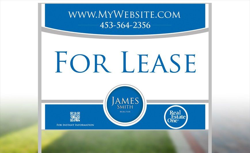 Real Estate One Yard Signs | Custom Real Estate One Yard Signs