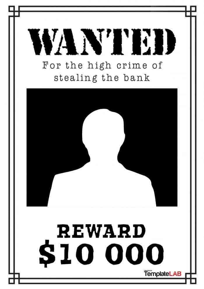 Lost Poster Template - Corpedo.com