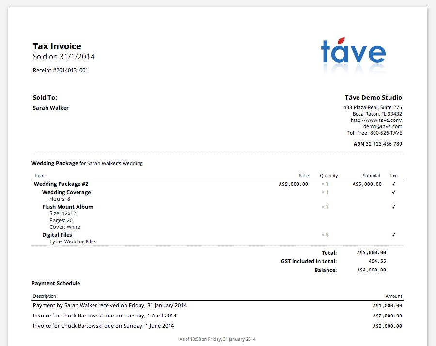 Download Tax Invoice Template Australia Ato | rabitah.net