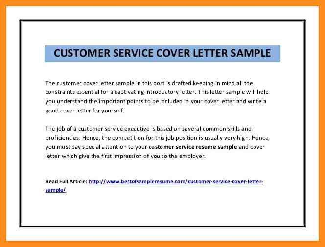 cover letter examples for customer service positions transmittal ...