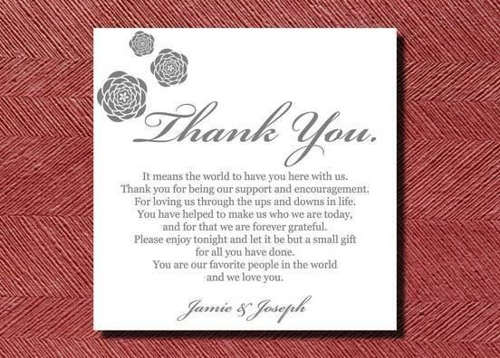 Thank You Card: Interesting Generic Thank You Card Wording Best ...