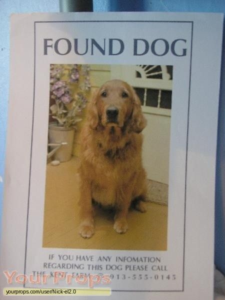 "Smallville Found Dog Poster ""Krypto"" replica TV series prop"