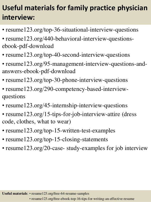 physician resume sample