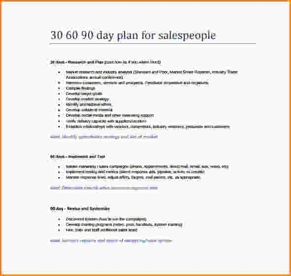 30 60 90 Business Plan.Printable 30 60 90 Day Action Plan Template ...