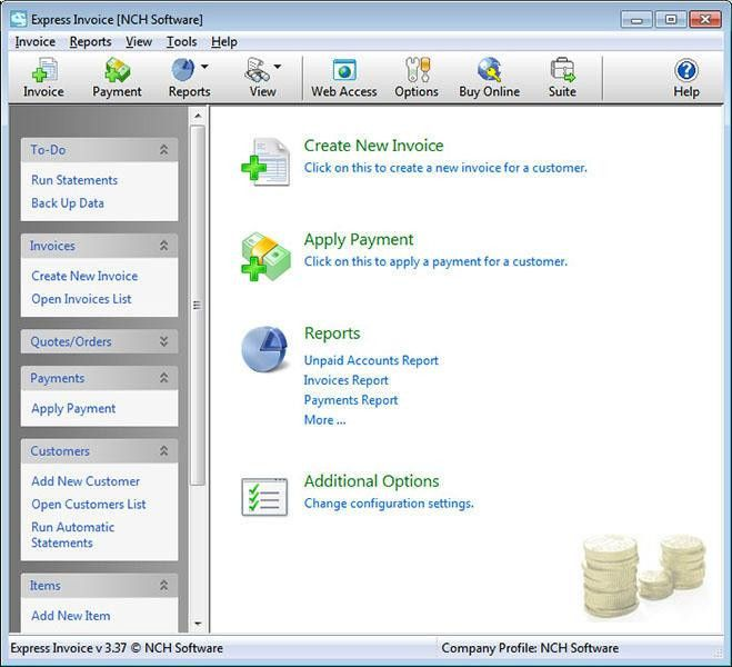 Express Invoice Free Invoicing Software - Free download and ...