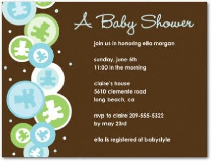 Top 10 Baby Shower Invitation Sample For Your Inspiration ...