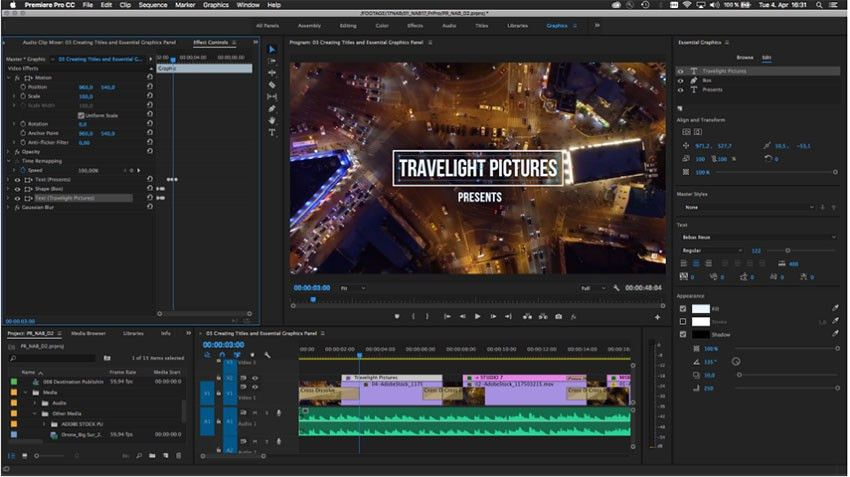 Premiere Pro CC 2017.1 Gets New Essential Panels Along with Other ...