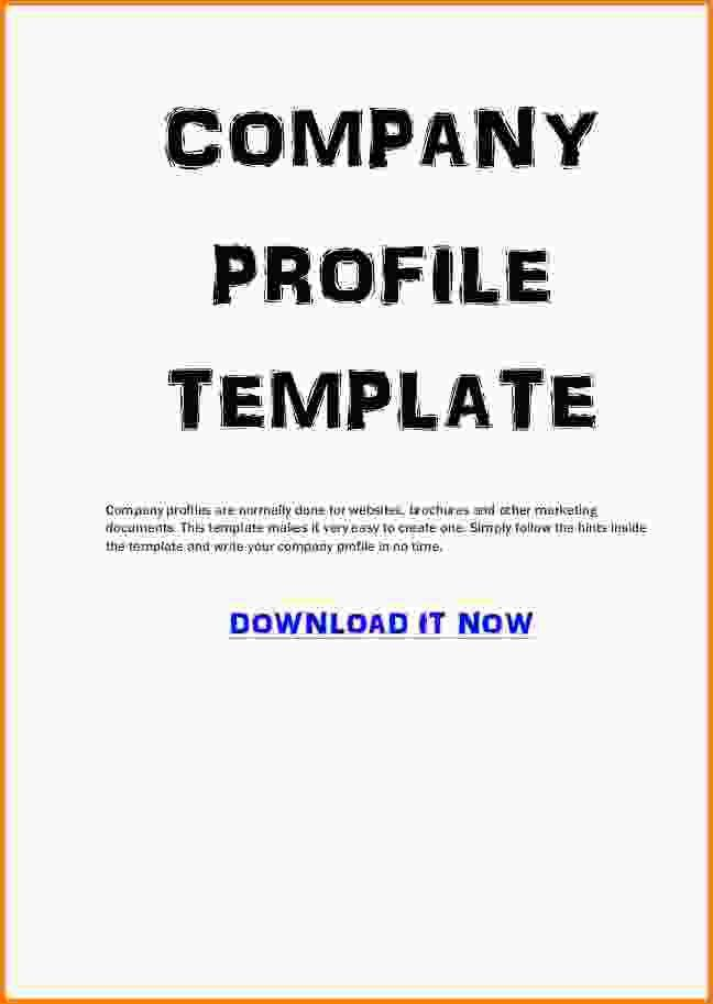 Company Profile Template.company Profile Sample Pdf.jpg ...