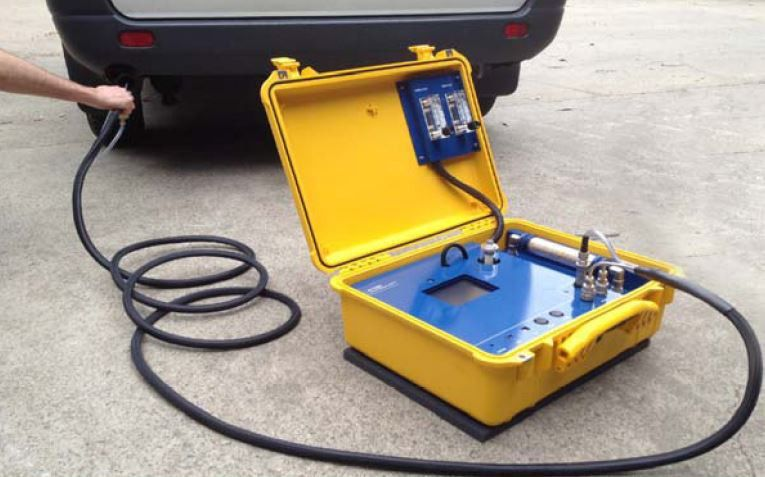 emission tests in az. prev. cosa 704 portable emissions analyzer ...
