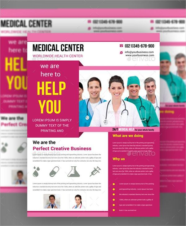 16+ Medical Flyer Templates - Free PSD, AI, EPS Format Download ...