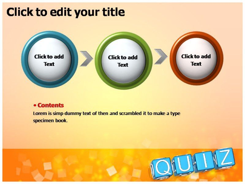 powerpoint quiz template free download - Template