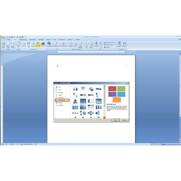 How to Find and Create Blank Venn Diagrams in Microsoft Word 2007 ...