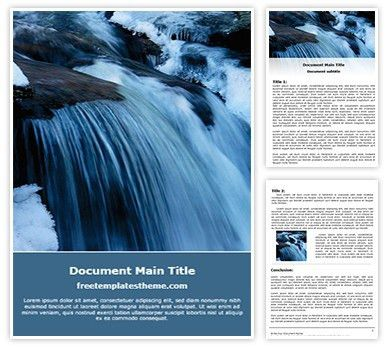 Free Thunderstorm, Energy Free Word Templates Document Designs ...