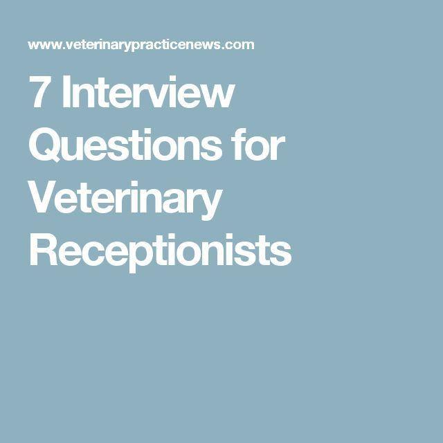 Best 25+ Veterinary receptionist ideas on Pinterest | Veterinary ...