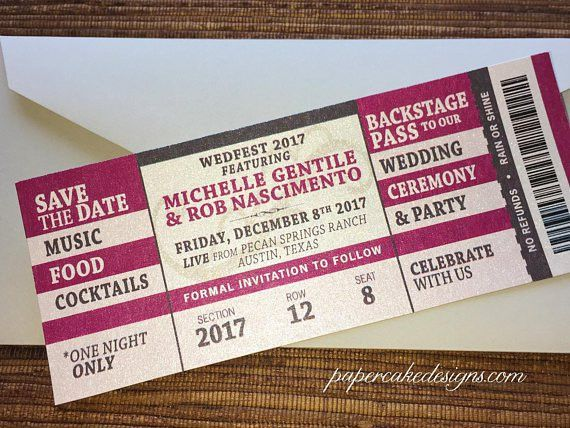 Concert Ticket Invitation Template. ticket template 23 download ...