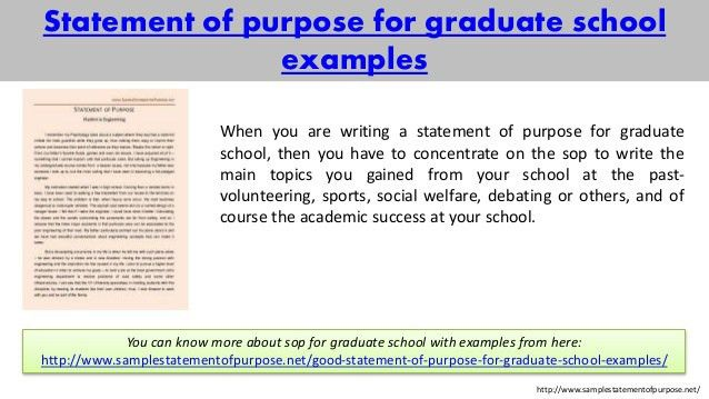 sample statement of purpose of any kind for you