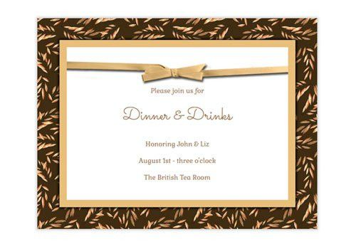 Online School Reunion Invitations