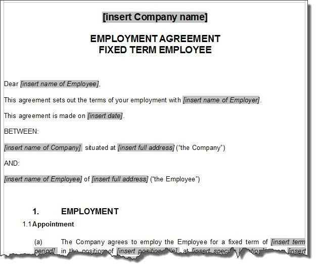 Employee Contract Template | NON COMPETE AGREEMENT