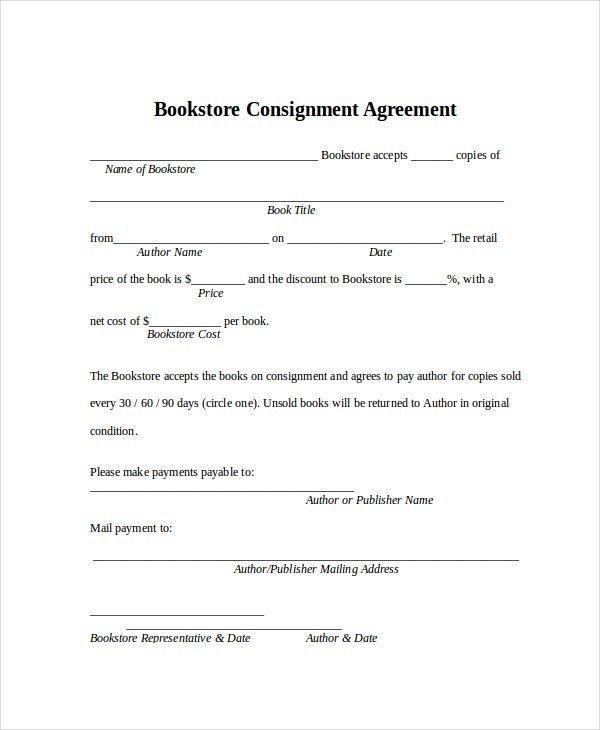 Consignment Agreement. 2 Rr Autograph Auctions Consignment ...