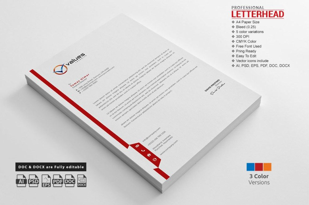 17 Best images about 20+ Business Letterhead Templates Word and ...