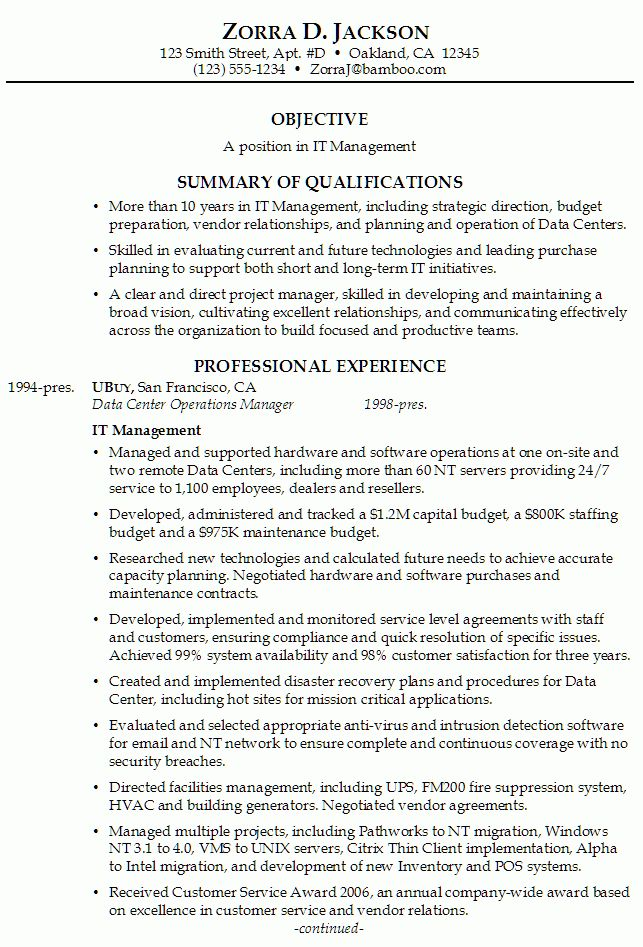 Good Bad Resumes Examples You have to avoid bad resume examples ...