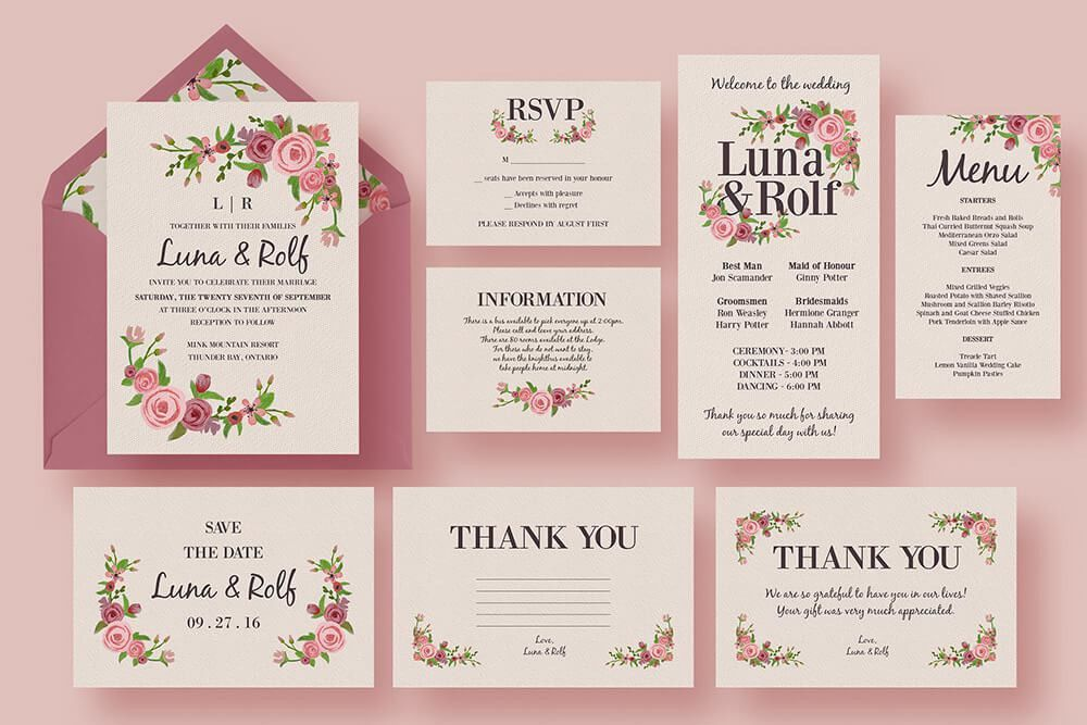 Wedding Invitation Samples - Themesflip.Com