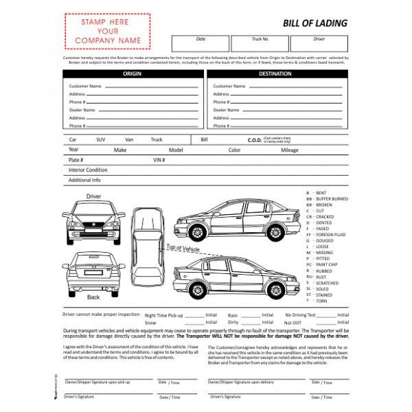 Freight Forms