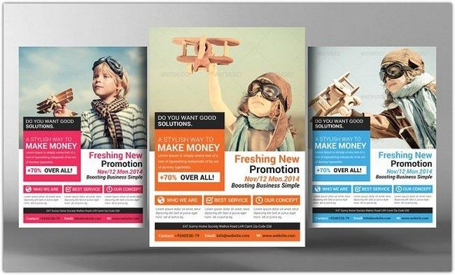 17+ Latest Marketing Flyer Templates - PSD, EPS, AI Format - Web ...
