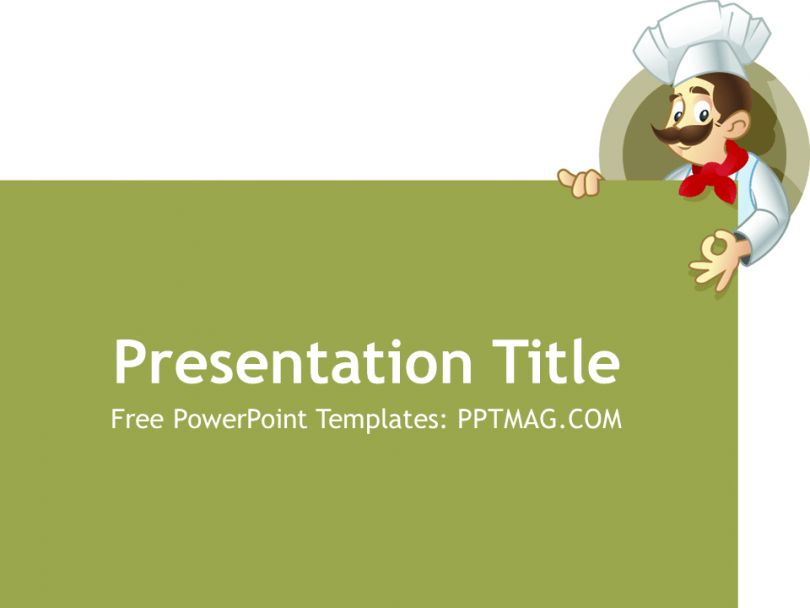 Free Chef PowerPoint Template - PPTMAG