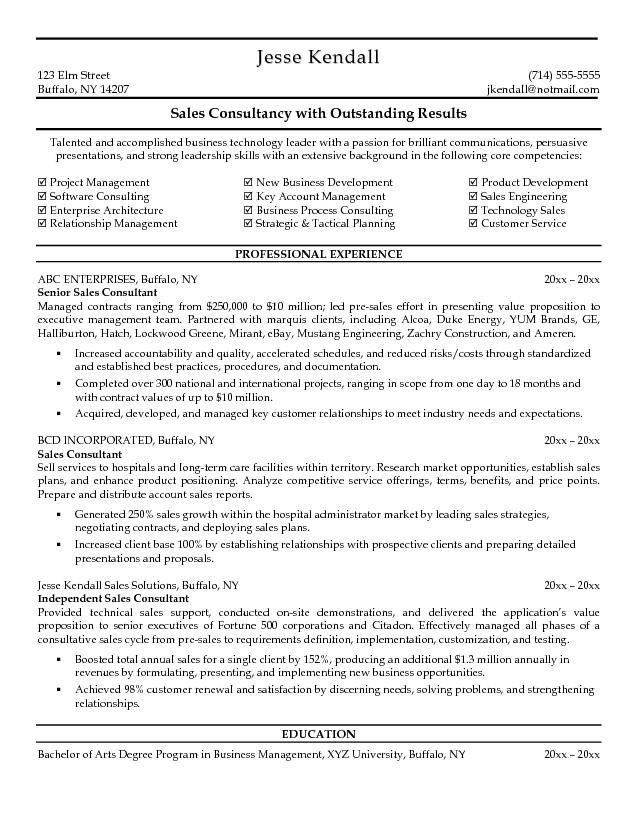 Consulting Resume Examples. Financial Consultant Resume Example ...