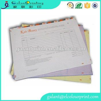 Custom Printing Rent Receipt Bill Book Cash Memo For Restaurant ...