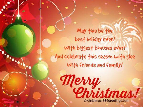Merry Christmas Greeting Card Sayings | wblqual.com