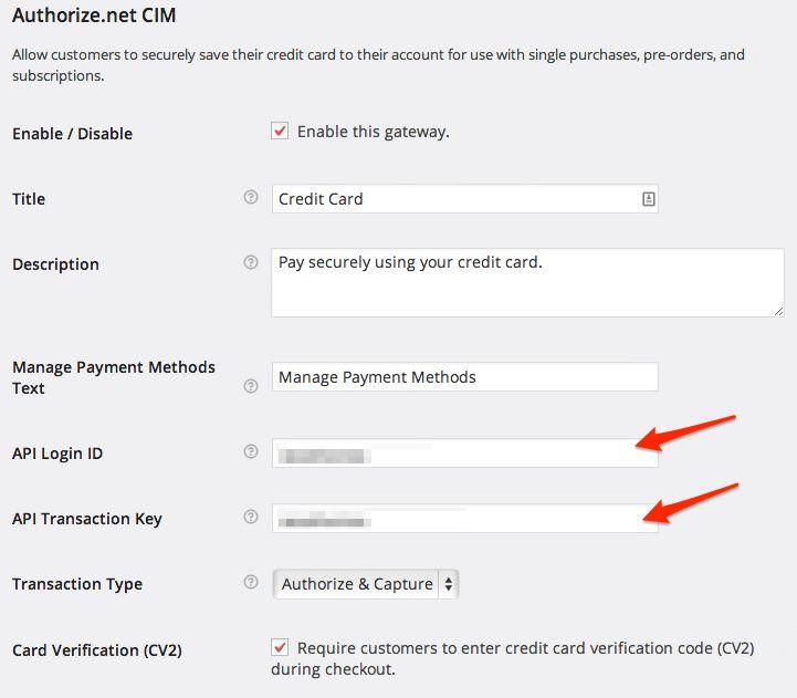 WooCommerce Authorize.Net CIM - WooCommerce Docs