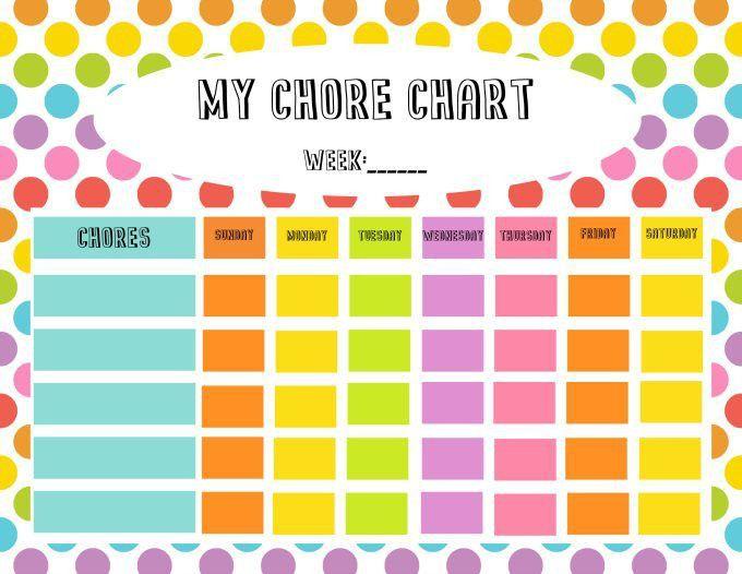 Free Chore Chart & Reward Tickets Printable - Simply Stacie