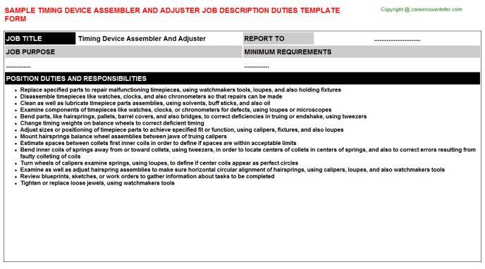 Dj Job Descriptions