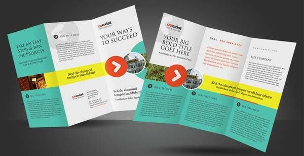 Collection of more than 15 high quality free brochure design ...