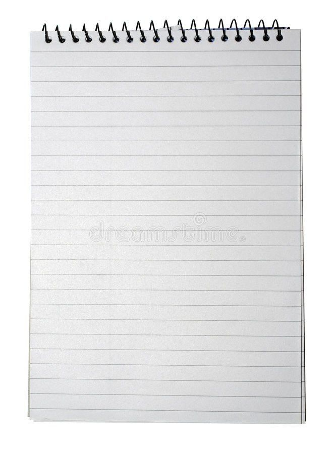 Notebook Lined White Paper Note Book Lines Texture Background Line ...