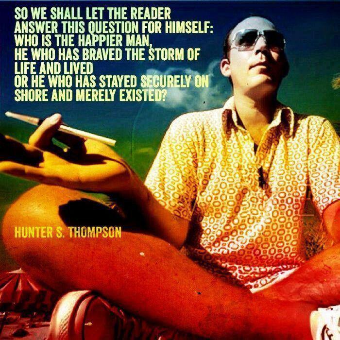 123 best Hunter S. Thompson images on Pinterest | Hunter s ...