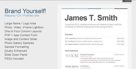 great looking resume