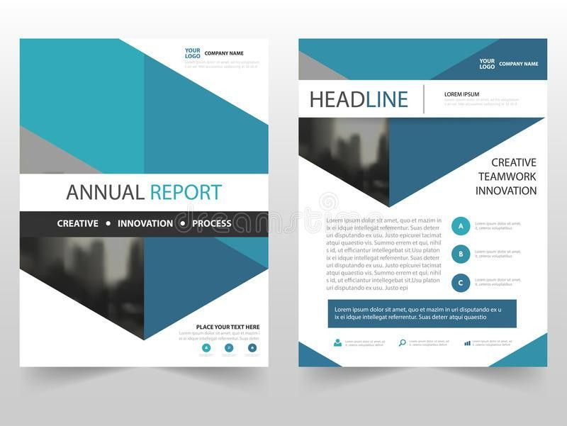 Annual Report Template Design - Corpedo.com