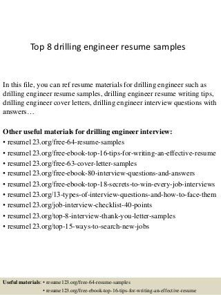 Drilling Engineer | LinkedIn