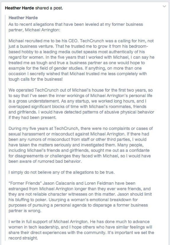 Letter To Jennifer Allen Regarding False And Defamatory Statements ...