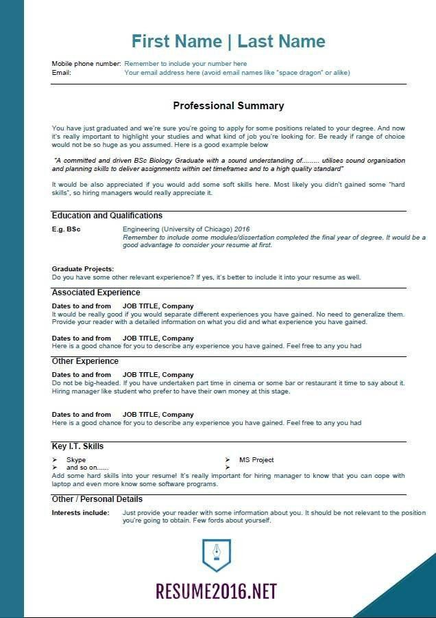 resume format examples for students samples of resumes college