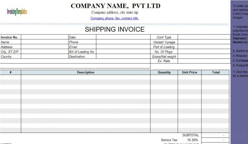 Uk Invoice Template Free Download | rabitah.net