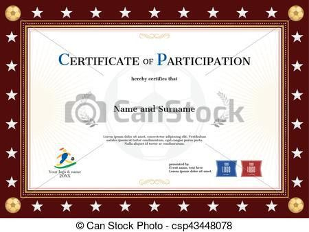 Vectors Illustration of Certificate template for super star with ...