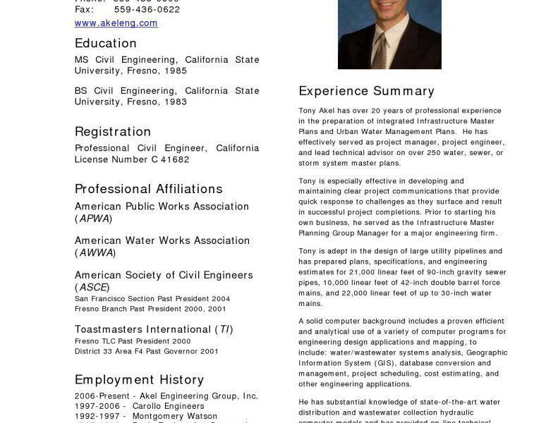 Civil Engineering Resume | haadyaooverbayresort.com